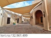 Купить «Doha, Qatar - Nov 20. 2019. Street in Katara Cultural Village», фото № 32961499, снято 20 ноября 2019 г. (c) Володина Ольга / Фотобанк Лори