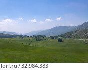 Купить «Beautiful summer landscape in the northern part of Montenegro», фото № 32984383, снято 14 июня 2019 г. (c) Володина Ольга / Фотобанк Лори