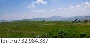 Купить «Beautiful summer landscape in the northern part of Montenegro», фото № 32984387, снято 14 июня 2019 г. (c) Володина Ольга / Фотобанк Лори