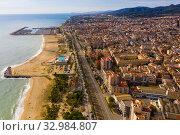 Купить «Coastal Spanish town of Mataro», фото № 32984807, снято 24 ноября 2019 г. (c) Яков Филимонов / Фотобанк Лори