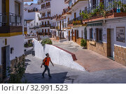Spain, Andalusia, Malaga, at the village of Almachar, in the Axarquia. (2019 год). Редакционное фото, фотограф J.D. Dallet / age Fotostock / Фотобанк Лори