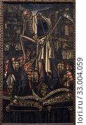 'Procession of Death', 1930, José Solana (José Gutiérrez Solana)(1886 - 1945) (2019 год). Редакционное фото, фотограф Artelan / age Fotostock / Фотобанк Лори