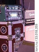 Купить «Ламповый звуковой усилитель Egnater», фото № 33018359, снято 24 декабря 2019 г. (c) Евгений Ткачёв / Фотобанк Лори