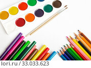 Tools for painting. Стоковое фото, фотограф Юлия Бабкина / Фотобанк Лори