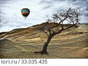 Купить «Landschaft, Krafla , Island, rot, braun, natur, lava, vulkanismus, vulkan, vulkangebiet, wolke, wolken, wolkenhimmel, kahl, öde», фото № 33035435, снято 2 июня 2020 г. (c) easy Fotostock / Фотобанк Лори