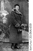 Портрет женщины пожилого возраста. 1930-е. Стоковое фото, фотограф Retro / Фотобанк Лори