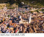 Basilica in Spanish town of Xativa (2019 год). Стоковое фото, фотограф Яков Филимонов / Фотобанк Лори