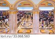 Купить «Gaming hall of Venetian Macao hotel and casino resort in Macau», фото № 33068583, снято 15 сентября 2017 г. (c) Александр Подшивалов / Фотобанк Лори