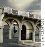 Купить «Surreal architecture», фото № 33097335, снято 9 апреля 2020 г. (c) PantherMedia / Фотобанк Лори