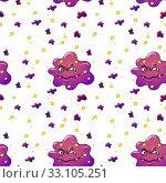 Купить «Seamless pattern with kid's theme», фото № 33105251, снято 20 февраля 2020 г. (c) PantherMedia / Фотобанк Лори