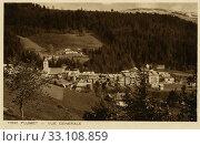 Купить «Город Флюме в горах. Франция», фото № 33108859, снято 27 февраля 2020 г. (c) Retro / Фотобанк Лори