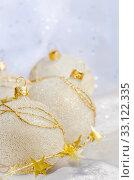 Купить «Christmas ball baubles», фото № 33122335, снято 12 июля 2020 г. (c) PantherMedia / Фотобанк Лори