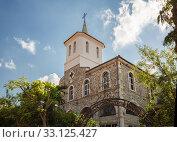 Купить «Church of the Holy Virgin in Nessebar», фото № 33125427, снято 26 июня 2019 г. (c) Юлия Бабкина / Фотобанк Лори