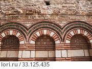 Купить «Architecture details of church St. Paraskeva in Nessebar, Bulgaria», фото № 33125435, снято 26 июня 2019 г. (c) Юлия Бабкина / Фотобанк Лори