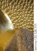 Der Grosse liegende Buddha im Wat Pho Tempel in der Stadt Bangkok in Thailand in Suedostasien. Стоковое фото, фотограф ursa lexander flueler / PantherMedia / Фотобанк Лори
