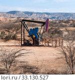 Купить «Oil Pump in the Desert, Mancora, Peru», фото № 33130527, снято 8 апреля 2020 г. (c) PantherMedia / Фотобанк Лори