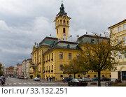 Купить «City Hall of Szeged», фото № 33132251, снято 30 октября 2017 г. (c) Яков Филимонов / Фотобанк Лори