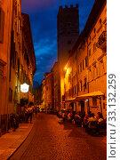 Historical center of Trento (2019 год). Редакционное фото, фотограф Яков Филимонов / Фотобанк Лори