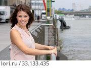 Купить «portrait of a pretty young woman», фото № 33133435, снято 25 мая 2020 г. (c) PantherMedia / Фотобанк Лори