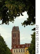 Marienkirche Hansestadt Wismar Deutschland. Стоковое фото, фотограф Uwe Norkus / PantherMedia / Фотобанк Лори
