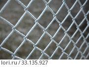 Купить «Winter Fence», фото № 33135927, снято 26 мая 2020 г. (c) PantherMedia / Фотобанк Лори