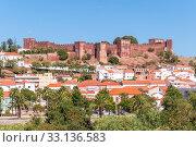 Купить «panorama of silves in portugal», фото № 33136583, снято 21 февраля 2020 г. (c) PantherMedia / Фотобанк Лори