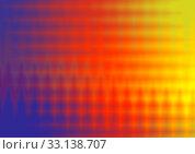 Купить «Abstract background, blue, yellow, red colors in geometric shape», иллюстрация № 33138707 (c) Катерина Белякина / Фотобанк Лори