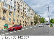 Купить «Mayakovsky Street in Samara», фото № 33142707, снято 21 мая 2019 г. (c) Дмитрий Тищенко / Фотобанк Лори
