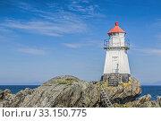 Купить «lighthouse on gimsøya», фото № 33150775, снято 19 февраля 2020 г. (c) PantherMedia / Фотобанк Лори