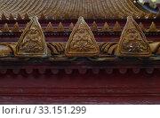 Купить «brick of wat benchamabophit in city bangkok in thailand in southeast asia.», фото № 33151299, снято 8 апреля 2020 г. (c) PantherMedia / Фотобанк Лори