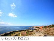 fort christiansoe island bornholm denmark. Стоковое фото, фотограф Krzysztof Zabłocki / PantherMedia / Фотобанк Лори