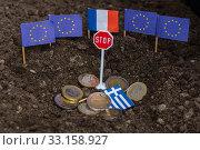 Купить «Greece and the EU», фото № 33158927, снято 3 апреля 2020 г. (c) PantherMedia / Фотобанк Лори