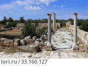 salamis in northern cyprus. Стоковое фото, фотограф Salih Külcü / PantherMedia / Фотобанк Лори
