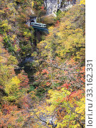 Купить «Autumn Colors of Naruko-Gorge in Japan», фото № 33162331, снято 24 февраля 2020 г. (c) PantherMedia / Фотобанк Лори