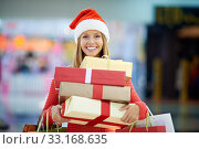 Купить «Christmas presents for everybody», фото № 33168635, снято 5 июля 2020 г. (c) PantherMedia / Фотобанк Лори