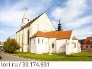 Church of St. Wolfgang in Hnanice, Czech Republic. Стоковое фото, фотограф Richard Semik / PantherMedia / Фотобанк Лори