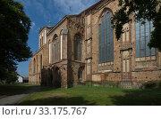St. Stephen's Church Gartz. Стоковое фото, фотограф Stephan Laude / PantherMedia / Фотобанк Лори