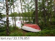 Купить «Rowing boats at calm bay», фото № 33176851, снято 10 июля 2020 г. (c) PantherMedia / Фотобанк Лори