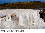 Купить «Salt hill in Egerszalok, Hungary», фото № 33180995, снято 28 октября 2017 г. (c) Яков Филимонов / Фотобанк Лори