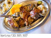 Купить «Grilled chicken», фото № 33181107, снято 29 февраля 2020 г. (c) Яков Филимонов / Фотобанк Лори