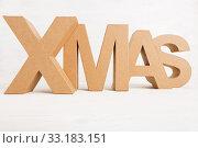Купить «X MAS - Christmas», фото № 33183151, снято 5 июля 2020 г. (c) PantherMedia / Фотобанк Лори