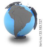 Купить «South America on Earth», фото № 33183727, снято 25 мая 2020 г. (c) PantherMedia / Фотобанк Лори