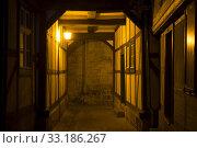 Купить «historic quedlinburg (sachsen-anhalt) at night», фото № 33186267, снято 25 февраля 2020 г. (c) PantherMedia / Фотобанк Лори