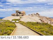 Купить «Remarkable Rocks on Kangaroo Island, South Australia», фото № 33186683, снято 20 февраля 2020 г. (c) PantherMedia / Фотобанк Лори