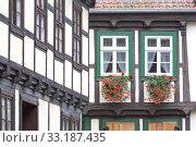 Купить «truss in quedlinburg,harz», фото № 33187435, снято 25 февраля 2020 г. (c) PantherMedia / Фотобанк Лори