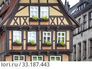 Купить «truss in quedlinburg,harz», фото № 33187443, снято 25 февраля 2020 г. (c) PantherMedia / Фотобанк Лори