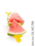 Watermelon popsicle. Стоковое фото, фотограф Martina Kovacova / PantherMedia / Фотобанк Лори