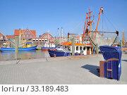 in the port of neuharlingersiel,east friesland,north sea,germany. Стоковое фото, фотограф Peter Eckert / PantherMedia / Фотобанк Лори