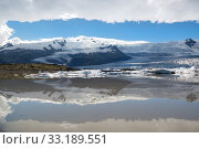 Купить «Fjallsarlon lagoon in Iceland», фото № 33189551, снято 24 февраля 2020 г. (c) PantherMedia / Фотобанк Лори