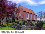 dornum church - dornum church 01. Стоковое фото, фотограф Liane Matrisch / PantherMedia / Фотобанк Лори